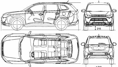Mitsubishi Outlander (2013)