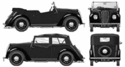Morris 8 Series E Tourer (1939)