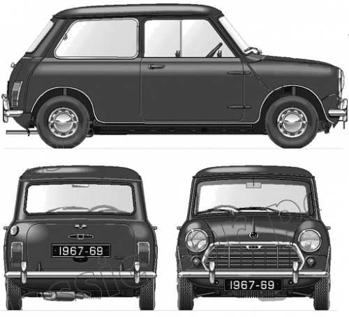 Morris Mini 1000 Mk.II (1967)