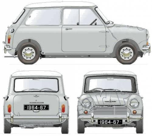 Morris Mini Cooper S 1275 Mk.I (1964)