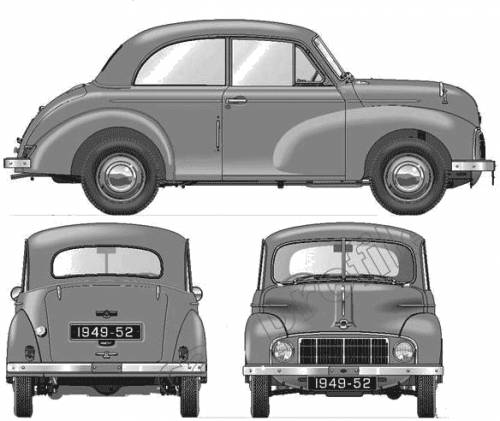 Morris Minor 2-Door MM (1949)