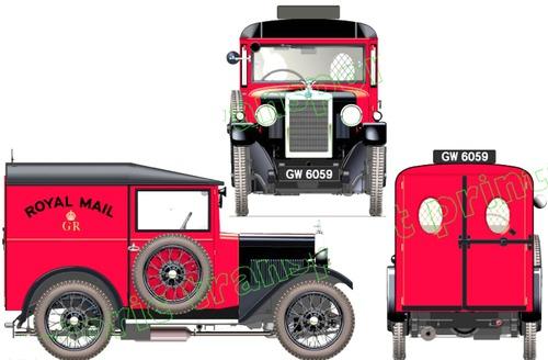 Morris Minor Mailvan (1932)