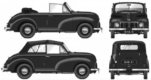 Morris Minor MM Tourer (1949)