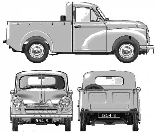 Morris Minor Pick-up S2 (1954)