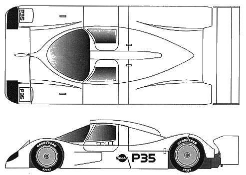Nissan NP35 IMSA (1992)