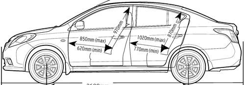 Nissan Sunny (2015)