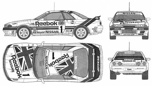 Reebok Skyline GT-R Gr.A