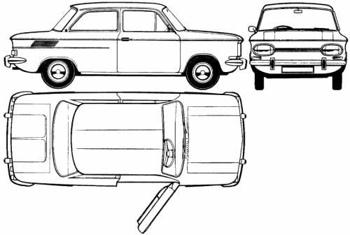 NSU 1000 (1965)