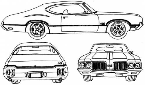 Oldsmobile Cutlass 442 (1970)