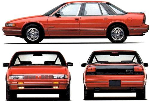 Oldsmobile Cutlass Supreme 4-Door (1991)