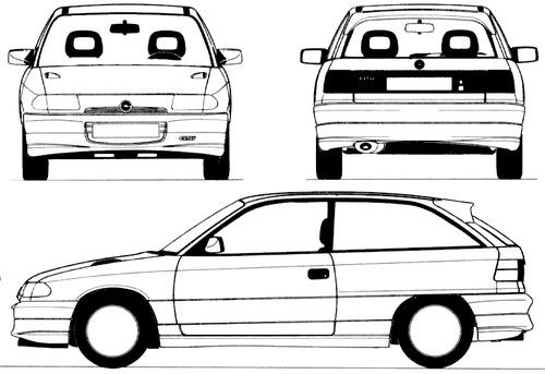 Opel Astra A GSi