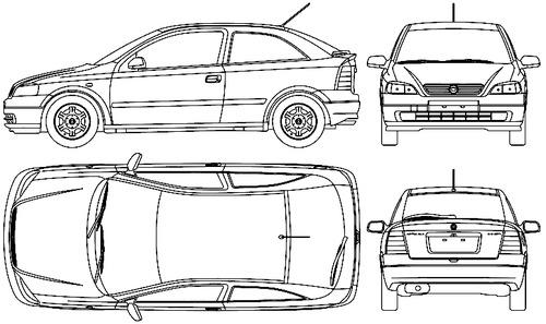 Opel Astra B GLS 3-Door (1999)
