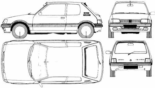 Peugeot 205 3-Door