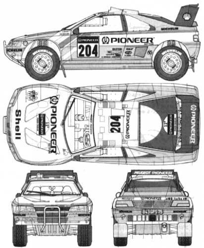 Peugeot 405 T16 GR