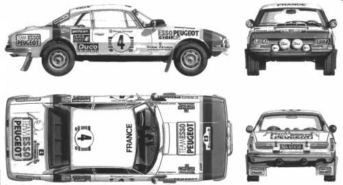 Peugeot 504 Coupe Rallye