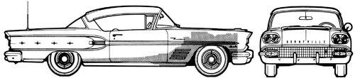 Pontiac Bonneville 2-Door Hardtop (1958)