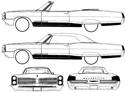 Pontiac Bonneville Convertible (1966)