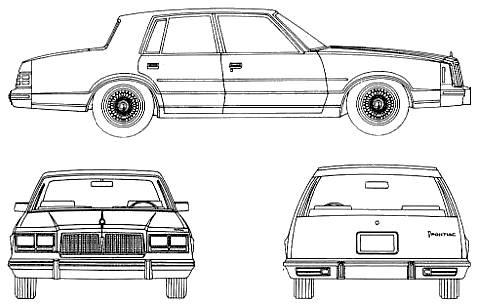 Pontiac Bonneville G 4-Door Sedan (1982)