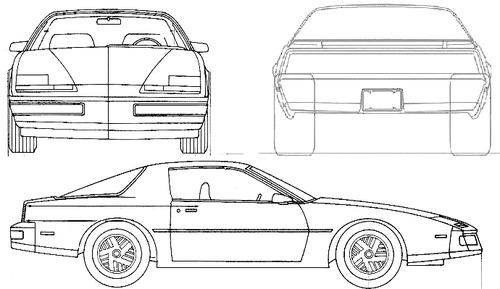 as well Knight Rider Kitt moreover Pontiac firebird  281984 29 also Corvette Stingray Coloring Sheets in addition 12579. on firebird kitt