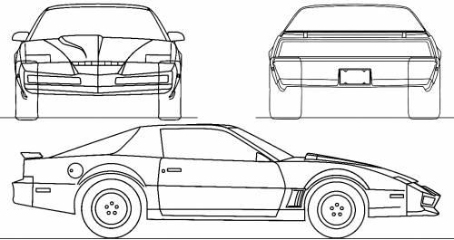 Home Depot Pontiac >> Blueprints > Cars > Pontiac > Pontiac Firebird Trans-Am (1982)