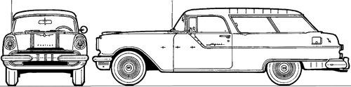 Pontiac Safari Wagon (1955)