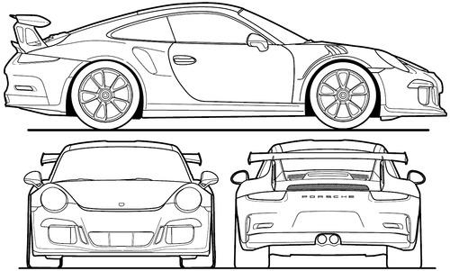 Porsche 911 GT3 RS (2016)