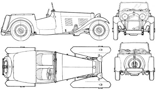 HRG 2 Seater Sport (1948)