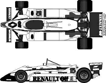 Renault RE40 F1 GP (1983)