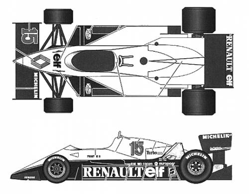 Renault RE40 GP of France (1983)