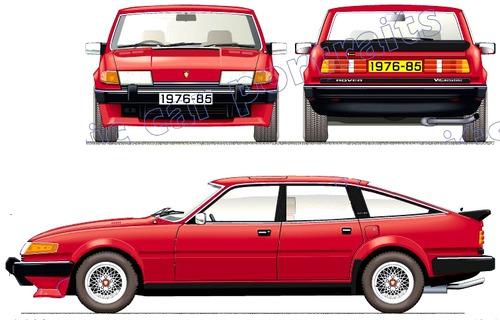 Rover SD1 Vitesse (1983)