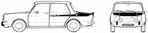 Simca 1000 Rallye 2 (1968)