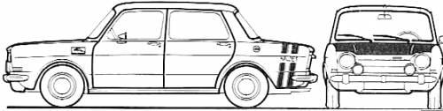 Simca 1000 Rallye II (1970)