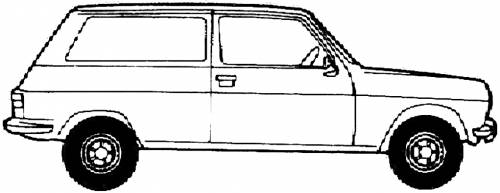 Simca 1100 Commercial (1979)