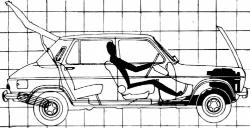 Simca 1100 GLS (1970)