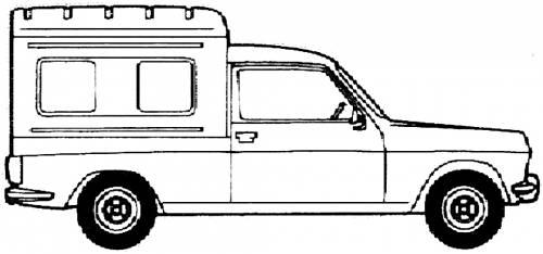 Simca 1100 VF2 Fourgonette (1979)
