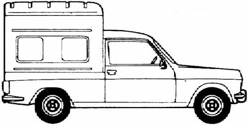 Simca 1100 VF3 Fourgonette (1979)