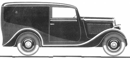 Simca 6 Fourgon (1936)