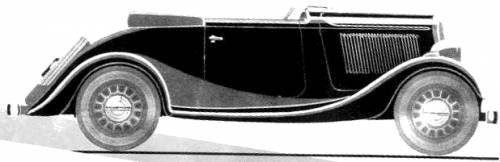 Simca 6 Roadster (1936)