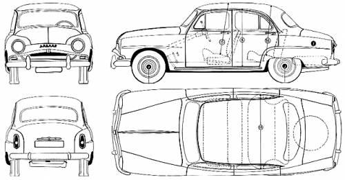 Simca 9 Aronde 1300 (1956)