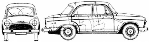 Simca Aronde Montlhery Special (1964)