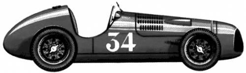 Simca-Gordini F1 GP (1948)