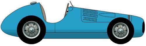 Simca-Gordini Type11 F1 Grand Prix car (1951)
