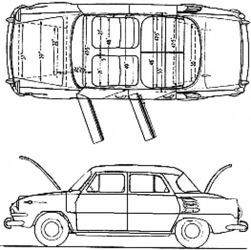 Skoda 1000MB (1965)