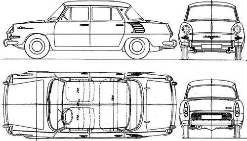 Skoda 1000MB (1969)