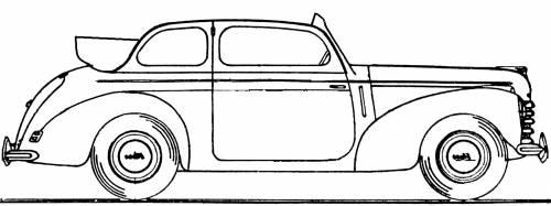 Skoda 1101S Cabriolet (1949)