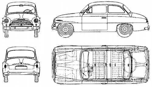 Skoda 440 (1958)