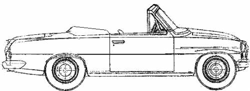 Skoda 450 Felicia Cabriolet