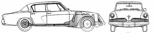 Studebaker Commander Regal Deluxe 4-Door (1953)
