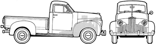 Studebaker M-5 Coupe Express (1947)