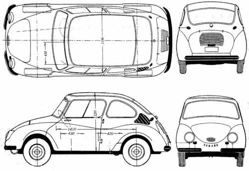 Subaru 360 Deluxe (1959)